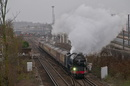 60163 'Tornado' - The Cathedrals Express Christmas 2012
